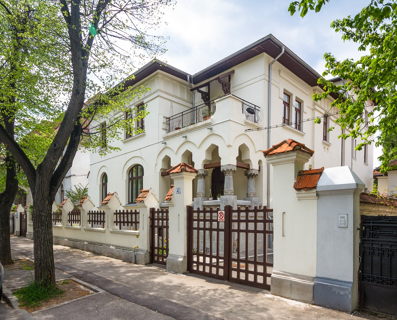 Vila, str. Paris 43 Bucuresti (1923)