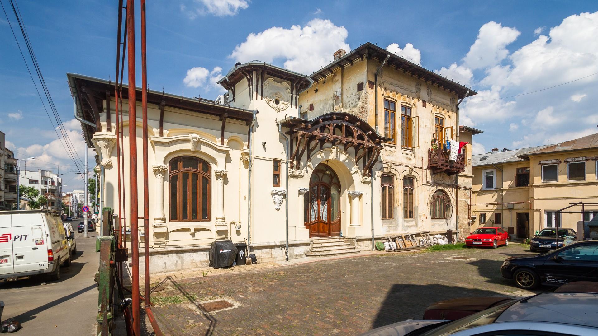 Casa Art Nouveau Strada Viitorului Bucurestiul Meu Drag