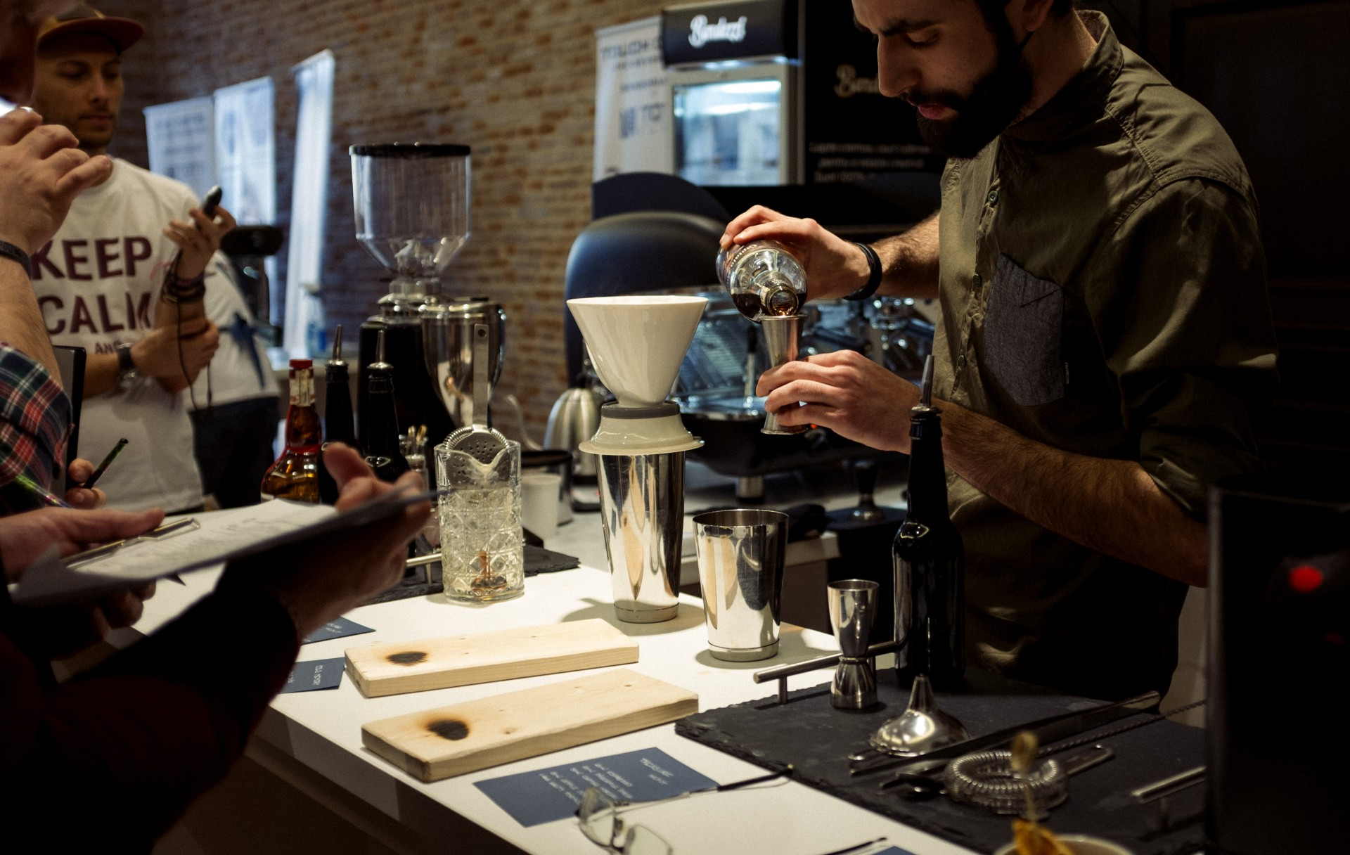 Bucharest Coffee Festival 2017 - concurs de barista