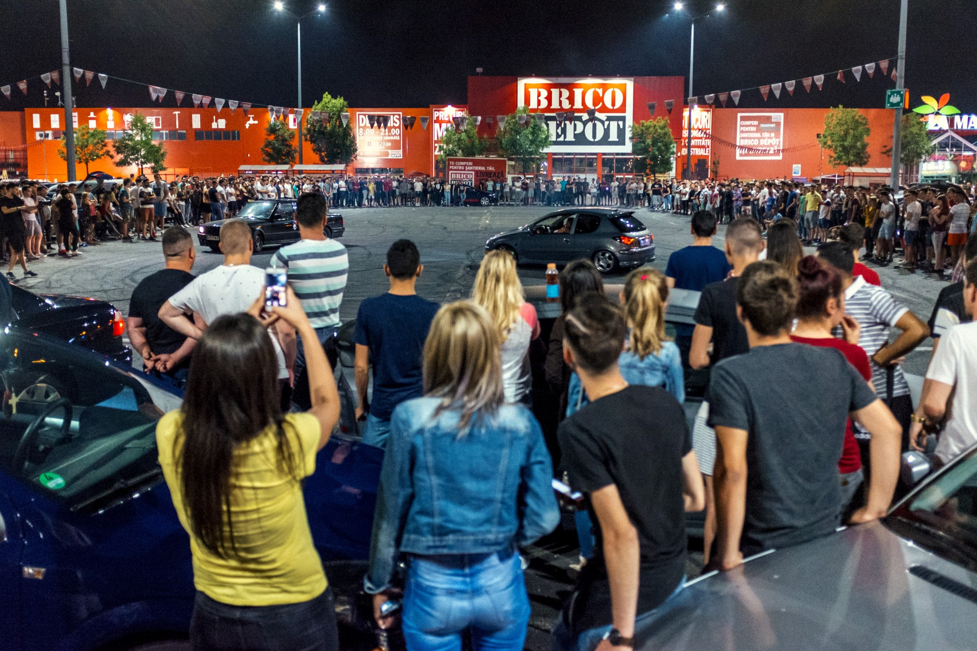 Drifting la Baneasa Shopping City