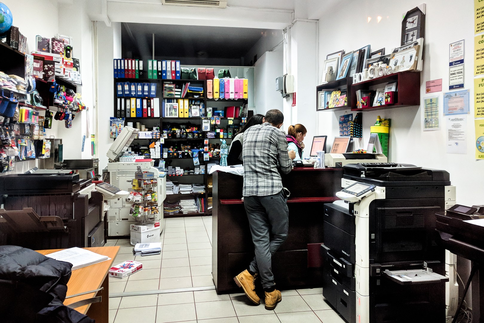Copy shop - Strada Tudor Arghezi