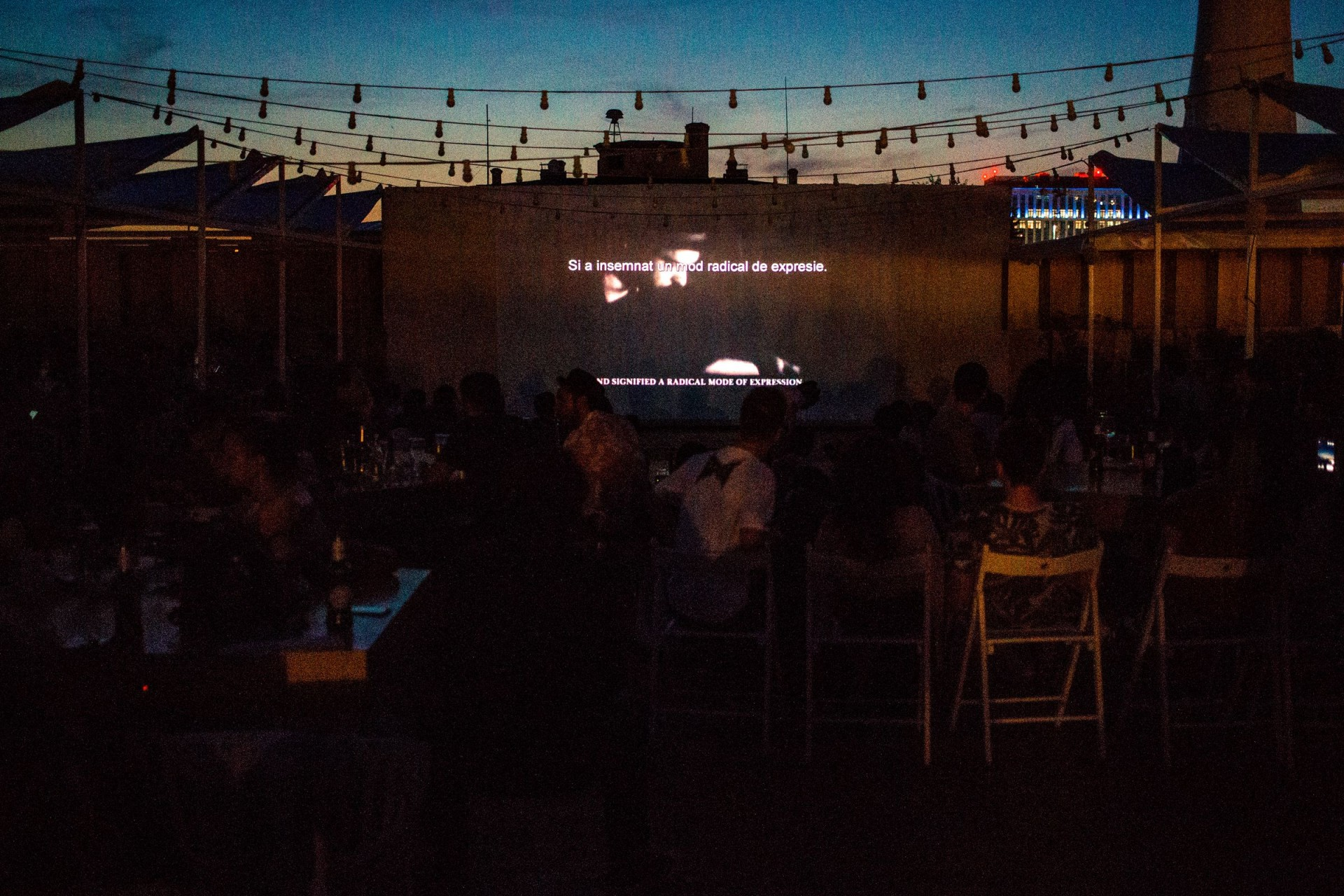 Rooftop Cinema: Love for Shorts - Deschis Gastrobar