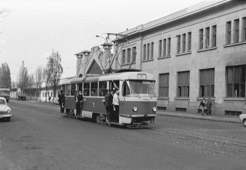 Tatra linia 26 Gara de Nord 14.11.1976
