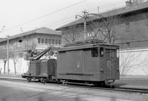 tram nr. 1 sudat sine Calea Giulesti 24.03.1976