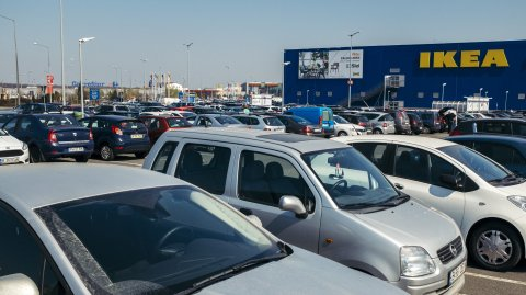 Baneasa Shopping City - parcare IKEA