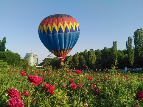 Balon in parcul Herastrau