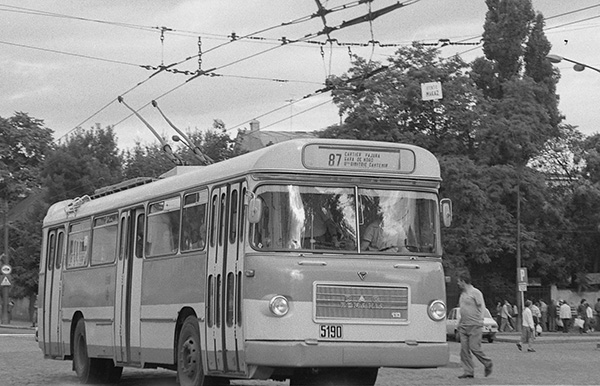 Troleibuz ROMAN 112 E - 1978