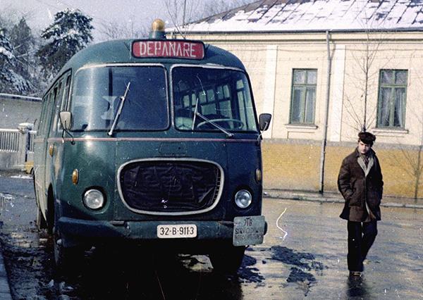 SKODA 706 RTO - DEPANARE, langa Gara Basarab in anul 1975